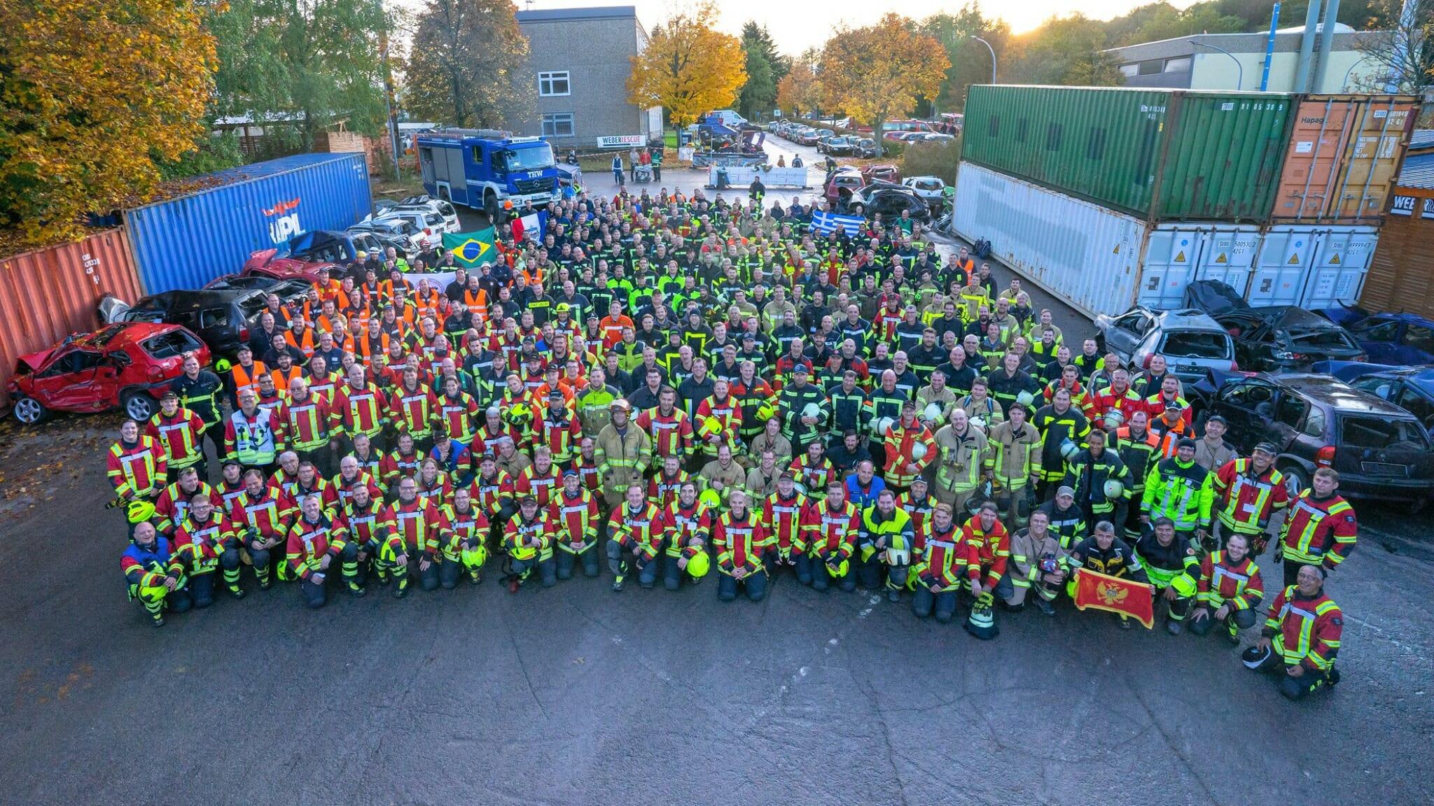 weber rescue  days – Weltweit größte Ausbildungs-Veranstaltung für technische Hilfeleistung im TCRH Mosbach