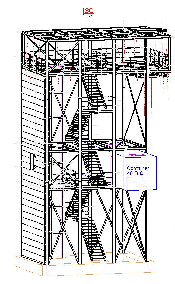 Sonder-Trainings-Anlage SRHT Höhen- und Tiefenrettung
