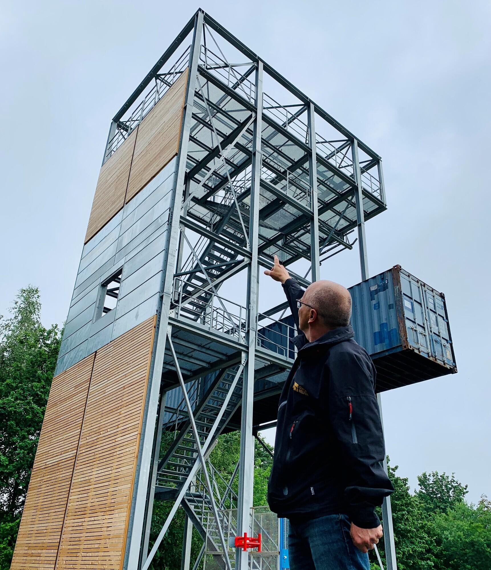 SRHT-Training: Ausbildung von Höhensicherung, Absturz-Sicherung und spezielles Retten aus Höhen und Tiefen